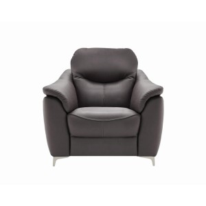 G Plan Jackson Armchair with metal feet