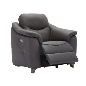 G Plan Jackson Recliner Chair with wooden feet