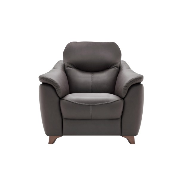 G Plan Jackson Armchair with wooden feet