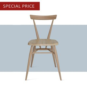 ercol 100th anniversary Stacking Chair offer