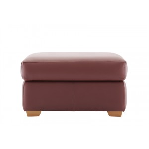 G Plan Chadwick Footstool in leather