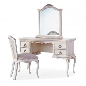 Avignon Ivory Dressing Table with mirror & chair