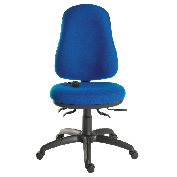 Comfort Air Office Chair in blue - front