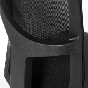 Comfort Mesh Office Chair in black detail