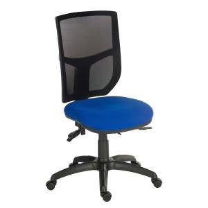 Comfort Mesh Office Chair in blue