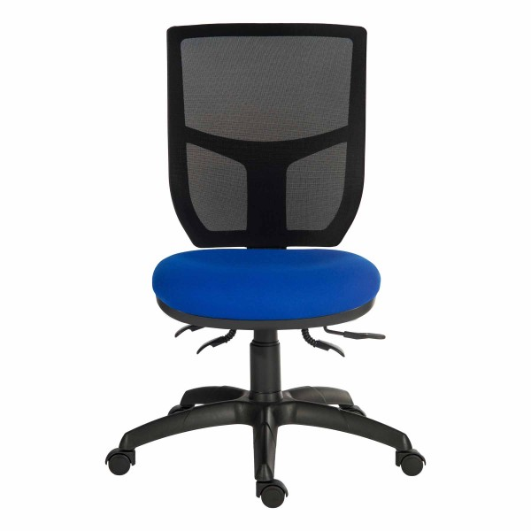 Comfort Mesh Office Chair in blue - front