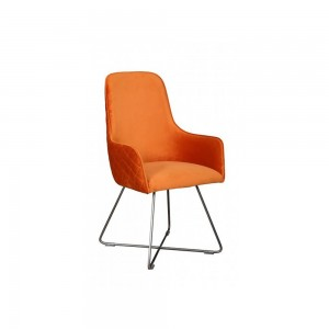 Jazz Chair in Orange angled