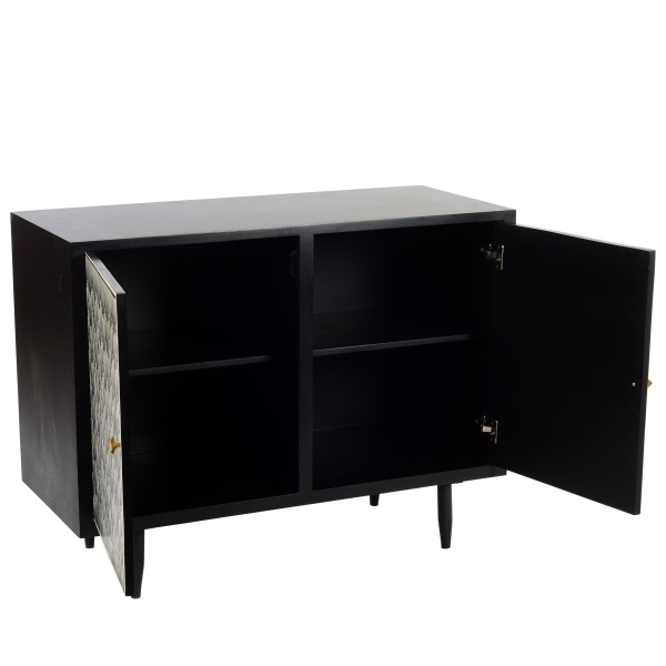 Ombre Cabinet open