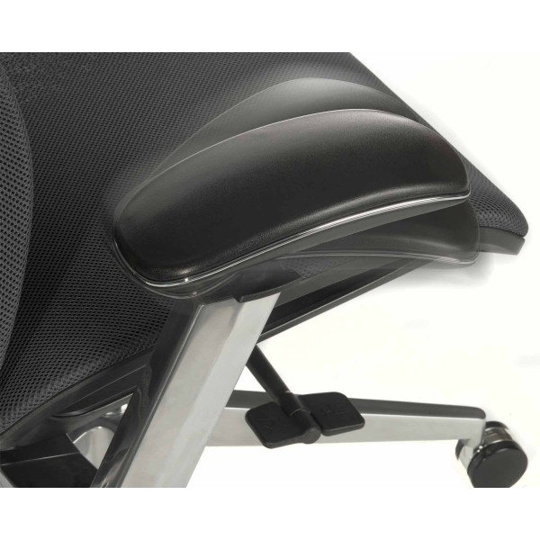 Solace Office Chair arm detail 2