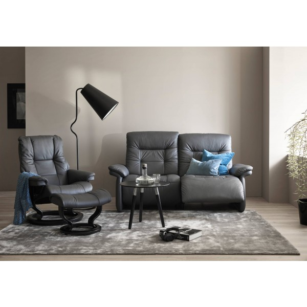 Stressless Mary 2 Seater Sofa with 2 power recliners