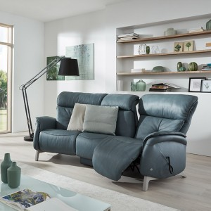 Swan Curved Recliner Sofa