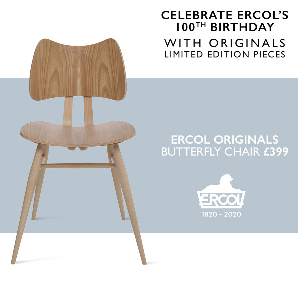 ERCOL Centenary Offer