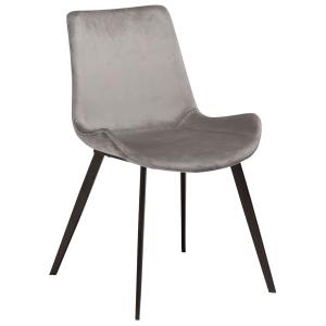 Hype Chair Aluminium Velvet