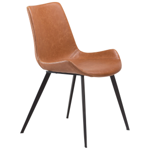 Hype Chair Vintage Light Brown Artificial Leather
