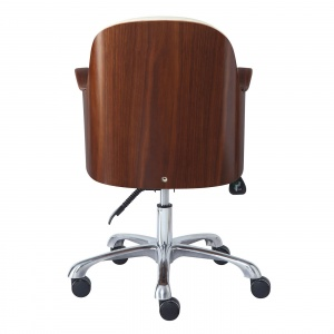 Stirling Office Chair walnut back
