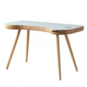 Stirling Smart Desk in Oak 2