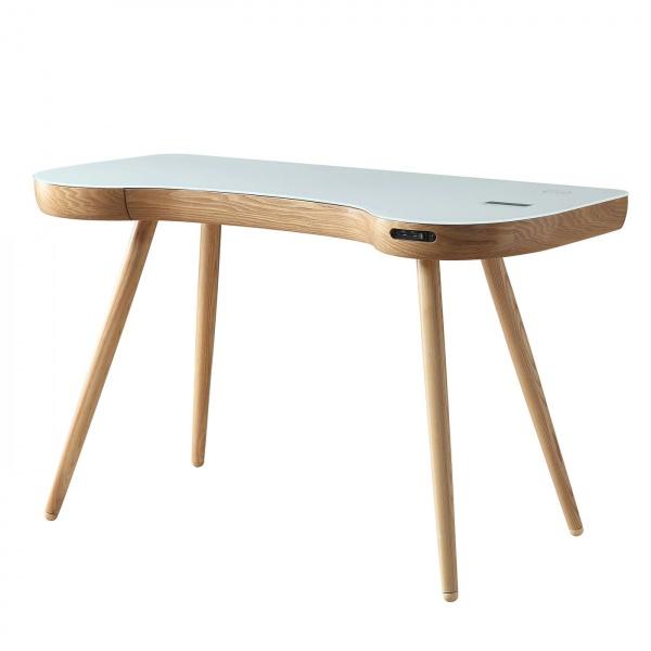 Stirling Smart Desk in Oak 2