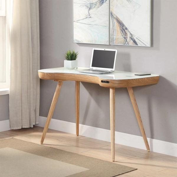 Stirling Smart Desk in Oak