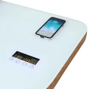 Stirling Smart Desk in Oak detail 2