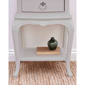 Avignon Grey 1 Drawer Bedside Chest detail