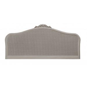 Avignon Grey Rattan Headboard