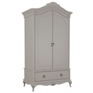 Avignon Grey Double Wardrobe