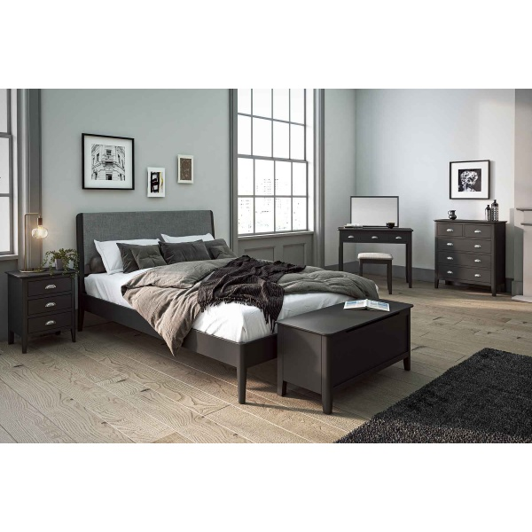 Capri Charcoal Bedroom Collection