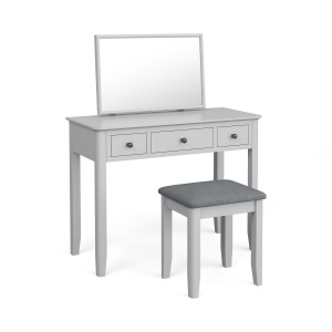 Capri Soft Grey Dressing Table Set