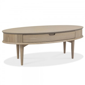 Mortensen Coffee Table with Drawer 1