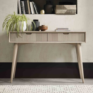 Mortensen Console Table with Drawers 03
