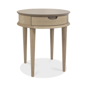 Mortensen Lamp Table with drawer 01