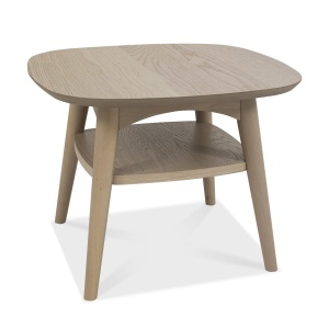 Mortensen Lamp Table with shelf 01