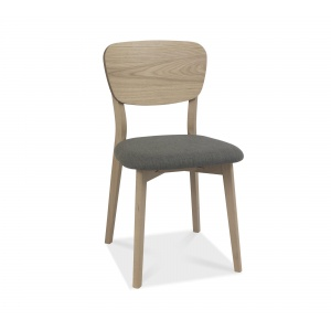 Mortensen Oak Back Dining Chair 01