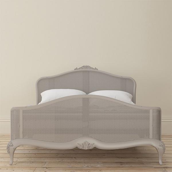 Avignon Grey Rattan Bedframe