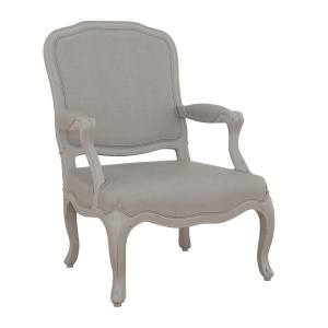 Avignon Grey Bedroom Armchair