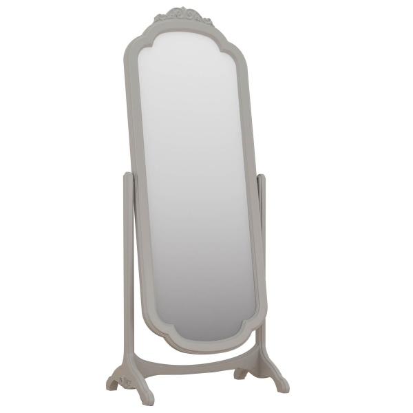Avignon Grey Cheval Mirror