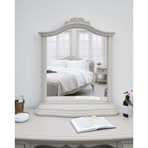 Avignon Grey Gallery Mirror detail