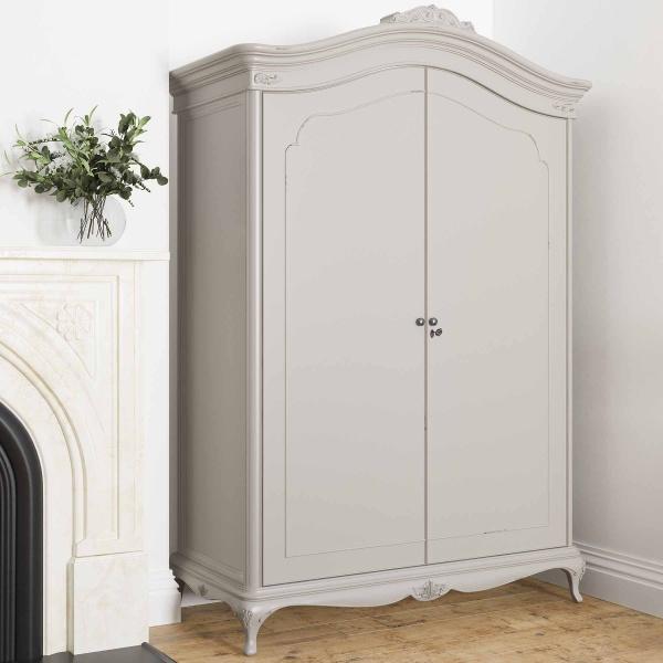 Avignon Grey Wide Fitted Wardrobe 3