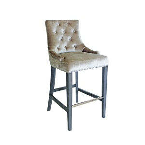 Belvedere Bar Stool in Champagne