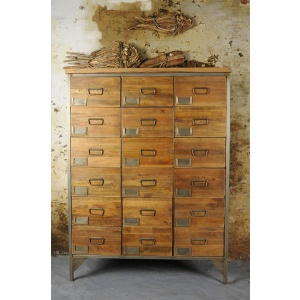 ENG006 18 Drawer Apothecary Chest