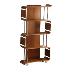 Poise Bookcase in Walnut