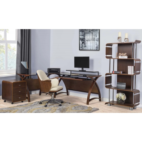 Poise Office collection in walnut