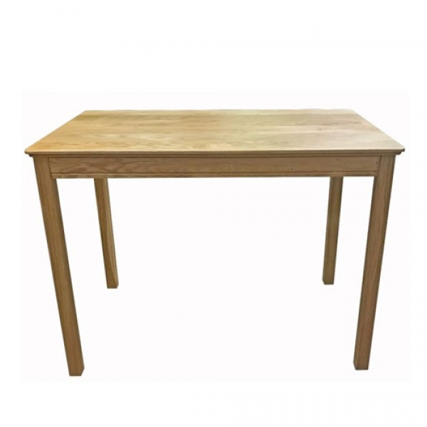 Anbercraft Beaumont BMT12 Rectangular Dining Table with Wood Top