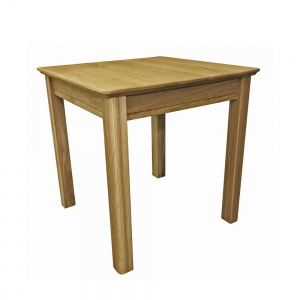 Anbercraft Beaumont Lamp Table with Wood Top