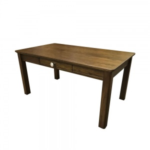 Anbercraft Beaumont Small Coffee Table with Drawer & Wood Top