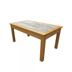 Anbercraft Beaumont Small Coffee Table with Tile Top