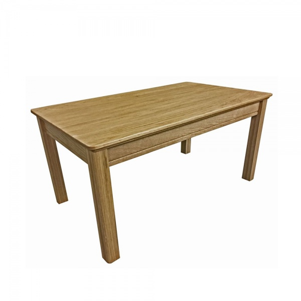Anbercraft Beaumont Small Coffee Table with Wood Top