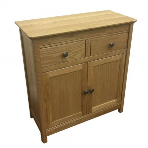 Anbercraft Beaumont Small Sideboard with Wood Top