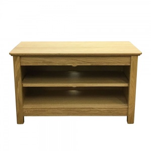 Anbercraft Beaumont Small TV Unit with Wood Top