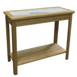 Anbercraft Beaumont Sofa End Table with Tile Top